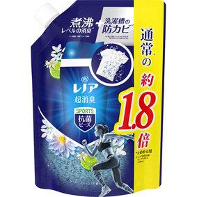 レノア本格消臭スポーツ抗菌ビーズ クールリフレッシュの香り 詰替超特大 760mL