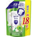 レノア本格消臭抗菌ビーズ グリーンミストの香り 詰替超特大 760mL