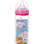 母乳実感哺乳びん プラスチック 240mL(トイボックス柄) 1本