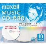音楽用CD−R CDRA80WP.10S 10枚