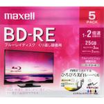 ブルーレイディスクBD−RE VIDEO BEV25WPE.5S 5枚