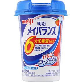 ※明治メイバランスMiniカップ いちごヨーグルト味 125mL