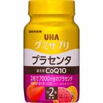 UHA グミサプリ 還元型COQ10 プラセンタ ボトル 40粒