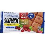 SIXPACKプロテインバー クランベリー袋 40g