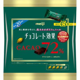 チョコレート効果カカオ72%大袋 225g