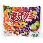 果汁グミアソート袋 163g(12袋)