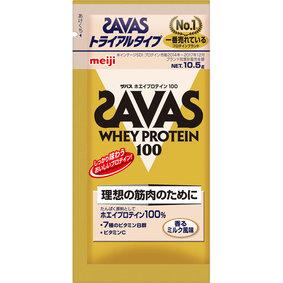 ザバス ホエイプロテイン100香るミルク トライアルタイプ 10.5g