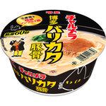 明星 チャルメラどんぶり 博多バリカタ麺豚骨 75g(めん60g)