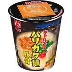 明星 チャルメラカップ バリカタ麺豚骨 65g(めん50g)