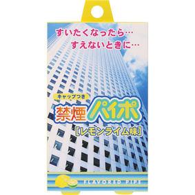 禁煙パイポ【レモンライム味】 3本