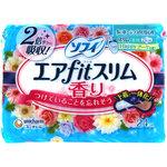 ソフィエアfitスリム Happyブーケ香り210羽つき 24枚
