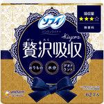 ソフィKiyora贅沢吸収 無香料ふつう用 62枚