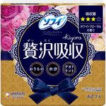 ソフィKiyora 贅沢吸収 ホワイトフローラルの香り 62個