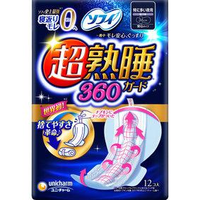 ソフィ 超熟睡ガード 360 12個