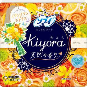 ソフィ Kiyora フローラル&シトラス 72個