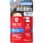 PRO TEC 頭皮ストレッチ シャンプー つめかえ用 230g