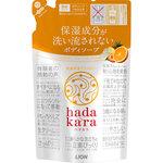 hadakara(ハダカラ) ボディソープ フルーツガーデンの香り つめかえ用 360mL