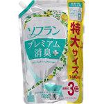 ソフラン プレミアム消臭プラス フルーティグリーンアロマの香り つめかえ用特大 1440mL