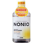 NONIOマウスウォッシュ ノンアルコール ライトハーブミント 600mL