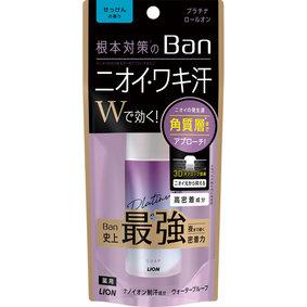 Ban 汗ブロック プラチナロールオン せっけんの香り 40mL