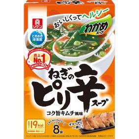 わかめスープ ねぎのピリ辛スープ わくわくファミリーパック 54.4g(6.8g×8袋)