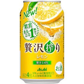 アサヒ贅沢搾り レモン 350mL