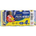 アルカリ乾電池 お買得パック LR20L 4MP 4本