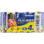 アルカリ乾電池 お買得パック LR14L 4MP 4本