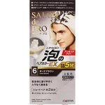 サロン ド プロ 泡のヘアカラーEX メンズスピーディ(白髪用) 6 ダークブラウン 1個