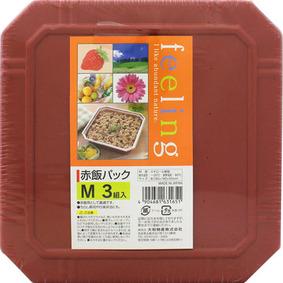 フィーリング 赤飯パック M 3組