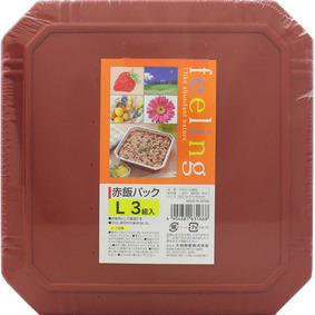 フィーリング 赤飯パックL 3組