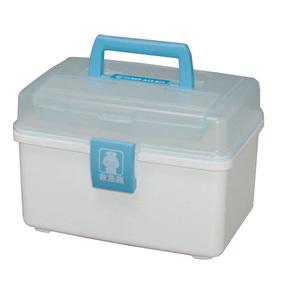 救急箱外傷薬用 QB−180 クリアブルー/ホワイト 1個