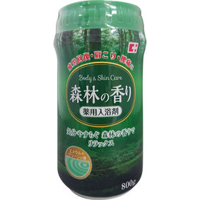 薬用入浴剤 森林の香り 800g