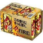 キリン ファイア 挽きたて微糖 185g×6缶