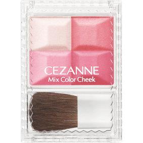 セザンヌ ミックスカラーチーク 01 ピンク系 1個