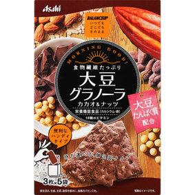 ※バランスアップ 大豆グラノーラ カカオ&ナッツ 150g(3枚×5袋)