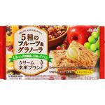 バランスアップ クリーム玄米ブラン 5種のフルーツ&グラノーラ 72g(2枚×2袋)