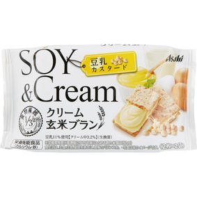 ※クリーム玄米ブラン 豆乳カスタード 72g(2枚×2袋)