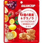 バランスアップ 6種の果実&グラノラ ひとくちビスケット 23g