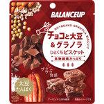 バランスアップ チョコと大豆&グラノラ ひとくちビスケット 23g