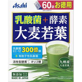 乳酸菌+酵素 大麦若葉 180g(3g×60袋)