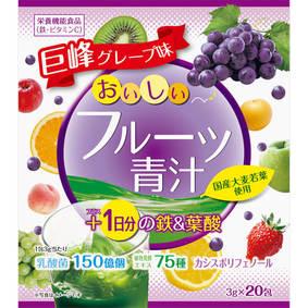 おいしいフルーツ青汁 1日分の鉄&葉酸 60g(3g×20包)