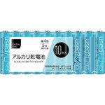 matsukiyo 単4アルカリ乾電池シュリンクパック LR03MK/10S 10本