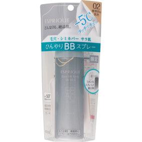 エスプリーク ひんやりタッチ BBスプレー UV 50 E 02 標準的な肌色 60g