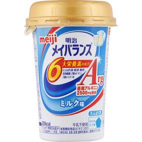 ※明治メイバランスArgMiniカップ ミルク味 125mL