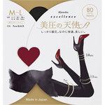 エクセレンス 美圧の天使(80D) M~L BK Pure BLACK 1足