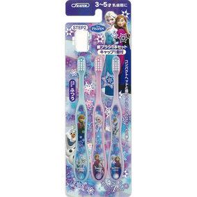 TB5T (キャップ付)歯ブラシ(園児用) アナと雪の女王15 ふつう 3本