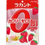 ラカントカロリーゼロ飴 いちごミルク味 48g