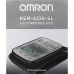 オムロン 自動血圧計 HEM−6220−SL SL シルバー 1台