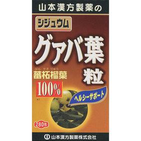 シジュウムグァバ葉粒100% 70g(250mg×280粒)